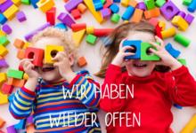 Eltern-Kind-Zentrum: Wir haben wieder offen!